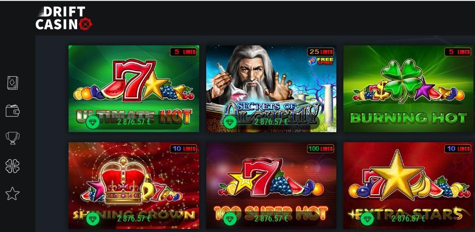 Казино Дрифт (Drift casino) официальный сайт - играть онлайн
